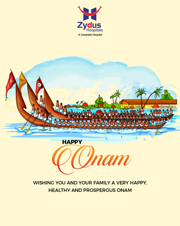 Wishing you and your family a very happy, healthy and prosperous Onam  #HappyOnam #Onam #Onam2019  #ZydusCare #ZydusHospitals #Ahmedabad #Gujarat