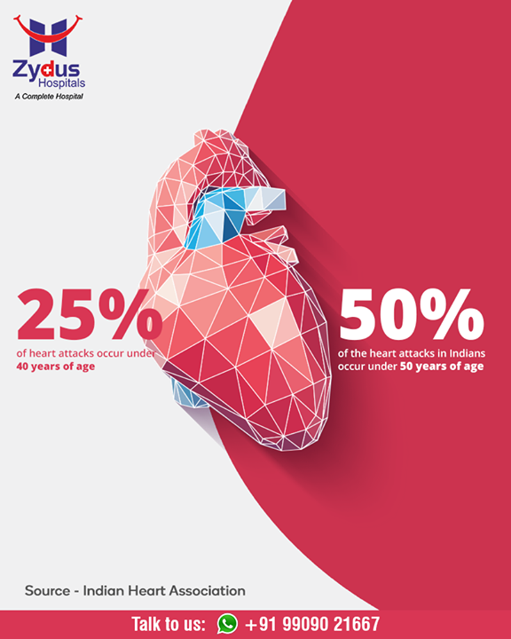 Did you know this #interesting fact?  #HeartAttacks #HeartCare #HeartDisease #GoodHeartCare #StayHealthy #ZydusCare #ZydusHospitals #Ahmedabad #Gujarat
