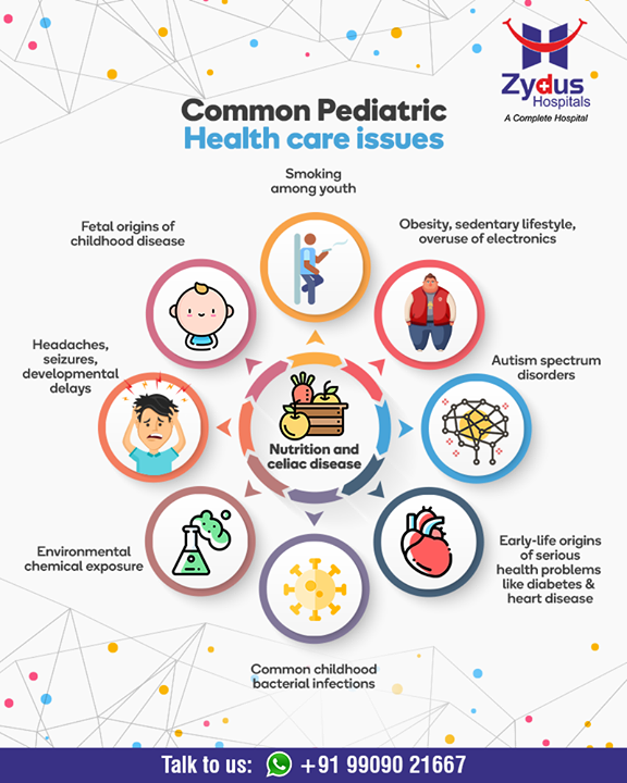 Common pediatric health care issues!  #CommonPediatric #GoodHealth #StayHealthy #ZydusCare #ZydusHospitals #Ahmedabad #Gujarat