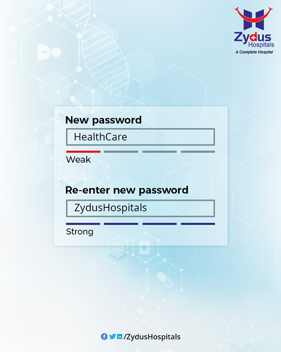 Zydus Hospitals, your strong password for your health care!  #TrendingNow #TrendingFormat #ReEnterPassword #NewPassword #Password #Trending #TrendSpot  #ZydusHospitals #HealthCare #ZydusCare #Ahmedabad