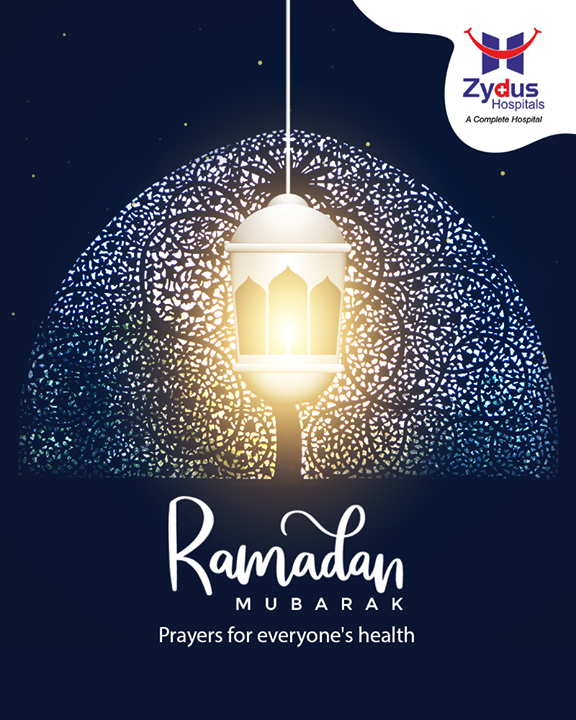 Wishing all our friends health and #happiness in the holy month of #Ramadan. May the sacrifices made make world a happier place.  #RamadanKareem #BlessingForAll #ZydusHospitals #Ahmedabad #GoodHealth