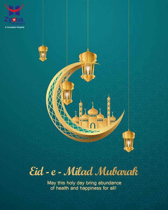 As we observe Eid-e-Milad today, let us all join our Muslim friends in prayers for peace, tolerance, mutual understanding and imbibe the virtue of patience towards all.  Let's also spread a message to preserve nature and keep healthy.  #EidEMilad #EidMubarak #EidEMiladMubarak #EidEMilad2020 #BestHospitalinIndia #ZydusHospitals #Ahmedabad #GoodHealth