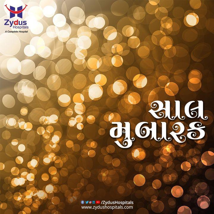 નવા વર્ષે અમો પરમકૃપાળુ પરમાત્માને પ્રાર્થના કરીએ છીએ આપના જીવનમાં સુખ, શાંતિ અને સમૃદ્ધિ રહે ઉપરાંત સૌ નિરોગી અને તંદુરસ્ત રહો.સાલ મુબારક  #HappyNewYear #NewYear #SaalMubarakh #IndianFestivals #Celebration #HappyDiwali #FestiveSeason #ZydusHospitals #Ahmedabad #GoodHealth #HealthIsWealth  #BestHospitalInAhmedabad