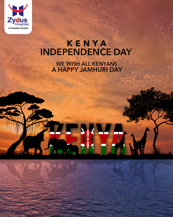 December 12 is marked as the date when Kenya obtained its independence in 1963. Wishing people of Kenya, a prosperous and Happy Independence Day.  #IndependenceDayKenya #KenyaIndependenceDay #HappyIndependenceDay #Kenya #Nairobi #Mombasa #MultiSpecialtyHospital #BestHospitalInAhmedabad #ZydusHospitals