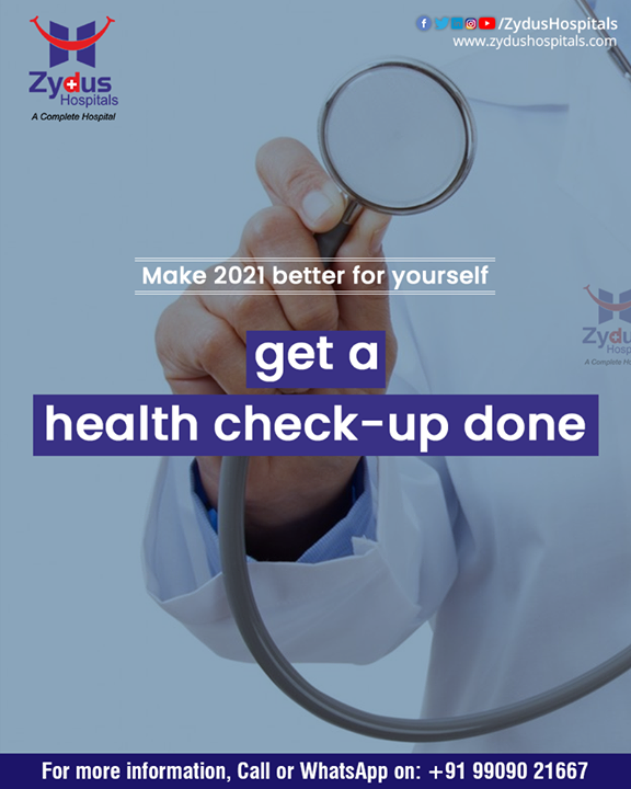 2021 should be about taking your life in the right direction and it starts with a Health Checkup. Zydus Hospitals has Health Check-Up Packages which will keep your wellness in check and your life one step ahead.   Explore these Packages from the following link: https://zydushospitals.com/m/brochure/Healthcheckup.pdf  #ZydusHospitals #HealthCheckUp #healthcare #health #healthylifestyle #healthy #healthscreening #healthylife #medicalcheckup #staysafe #BestHospitalinAhmedabad #Ahmedabad #GoodHealth
