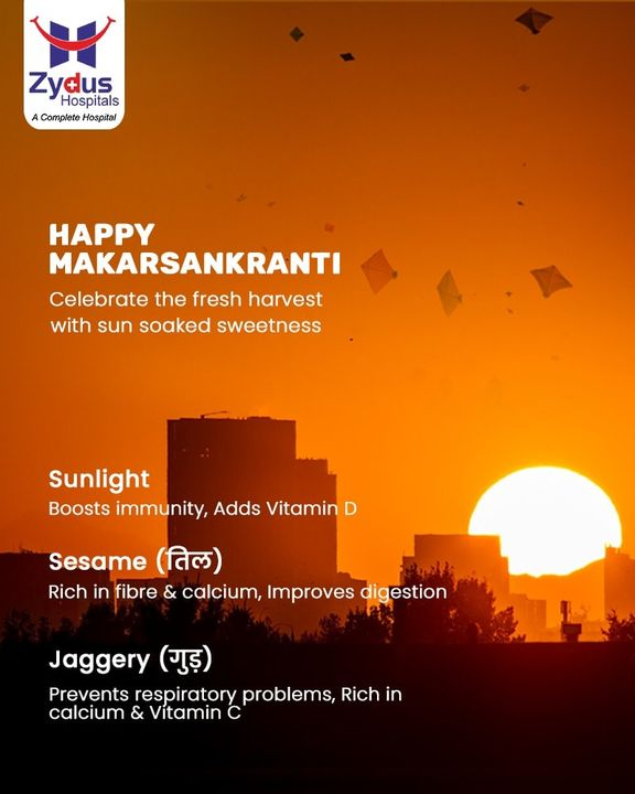 Seek the blessings of mother #nature; may this #MakarSankranti bring in new hopes and good #health for all. Wishing all a Happy Makar Sankranti !  #ZydusHospitals #GoodHealth #Ahmedabad #KiteFestival #Uttarayan