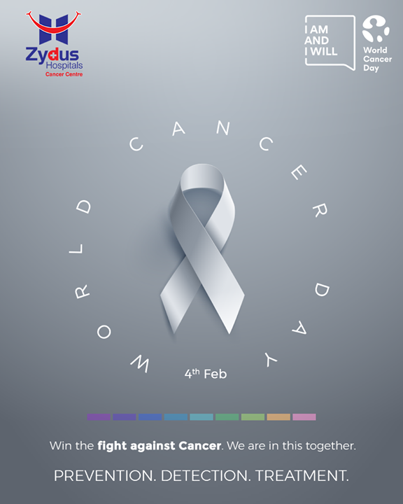 Cancer is not a death sentence but rather a life sentence, it pushes you to live. Prevent it, Detect it & Fight it.  #ZydusHospitals #WorldCancerDay #IAmAndIWill #WorldCancerDay2021 #ActAgainstCancer #ZydusCancerCentre #Cancer #Tumors #MultiSpecialtyHospital #CancerTreatment #CancerHospital #AhmedabadHospital #BestHospitalInAhmedabad