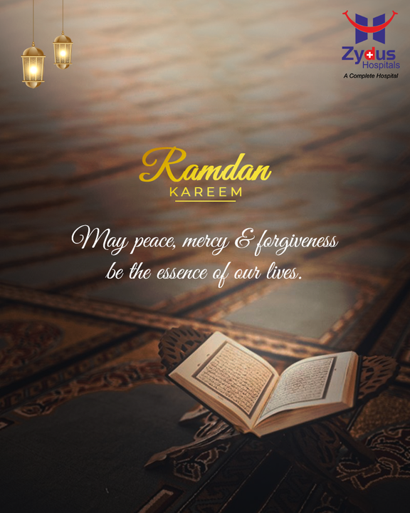 On this day, May Allah accept all your prayers and protect you from all the sins to bring you peace, joy, and good health.  #ZydusHospitals #RamdanKareem #HealthCare #StayHealthy #ZydusCare #Ahmedabad #Gujarat #BestHospitalinAhmedabad