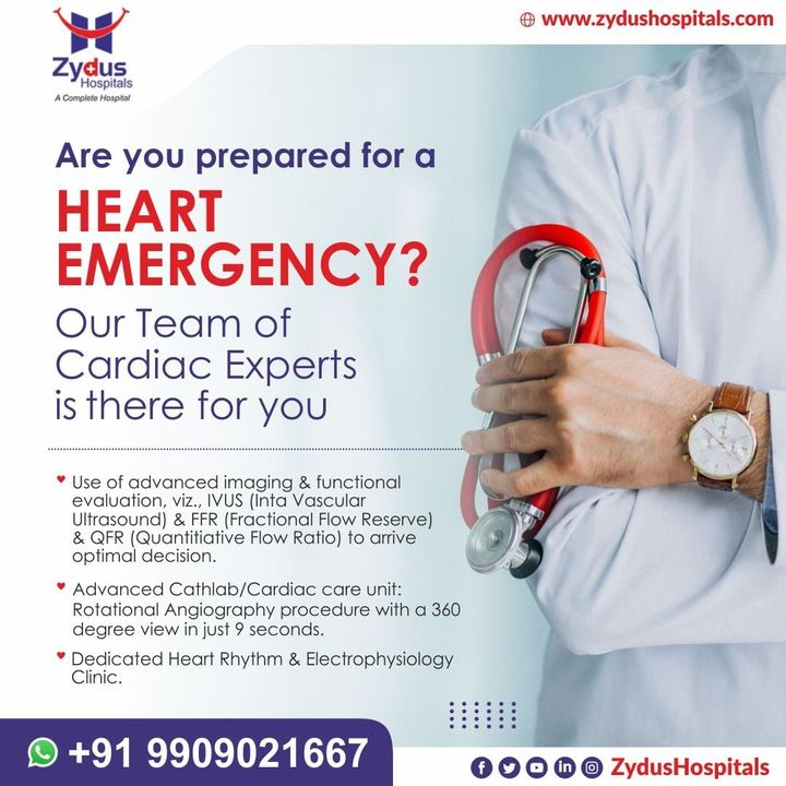 The annual number of deaths from heart diseases in India has risen from 2.26 million (1990) to 4.77 million (2020).  The major reason for this is ignorance & lack of right medical services at the right moment.   #ZydusHospitals #HealthCare #ZydusCare #Ahmedabad #Hospital #Heart #HeartBeat #HeartAttack #HeartDisease #HeartDiseaseAwareness #StayHealthy #GoodHealth  Source: NCBI