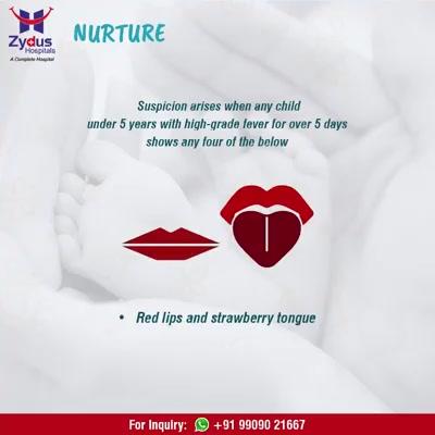 Fever in kids which is often missed - KAWASAKI DISEASE!  #KawasakiDiseaseIsTreatable #ZydusNurture #ZydusHospitals #StayHealthy #Ahmedabad #GoodHealth