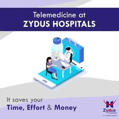 टेली-मेडिसिन के ज़रिये आप अपने डॉक्टर के संपर्क में रह सकतें हैं | आप चाहे उदयपुर में हों या भुज में, या फिर किसी और देश या प्रान्त में | हमारे डॉक्टर आपकी सहायता के लिए सदैव तत्पर हैं |  टेली-मेडिसिन द्वारा आसानी से आप अपने घर में बैठे, सिर्फ़ स्मार्ट-फ़ोन के ज़रिये हम तक पहुँच सकते हैं | वह भी बहुत ही कम खर्च में |  आज ही इस सेवा का लाभ उठायें, लॉग ऑन करें www.zydushospitals.com पर | आपके बेहतर स्वास्थय की कामना |  #IndiaFightsCorona #COVID19 #StayHome #StaySafe #TeleHealth #Econsultation #TeleMedicine #TeleConsultation #ZydusHospitals #Ahmedabad