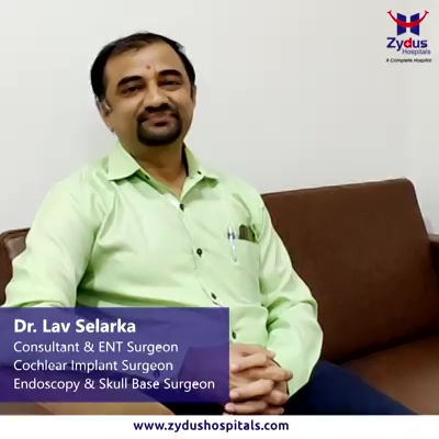 For Ear, Nose or Throat related concerns, talk to Dr. Lav Selarka. Get #ENT e-consultation right from your home - #StayHomeStaySafe  Visit https://www.zydushospitals.com/ and talk to ZyE for an e-consultation  or click here - https://wa.me/919909021667 to send us medical reports on WhatsApp  We are there for you.  #EConsult #TeleConsult #COVID #LockDown #StaySafe #StayHome #ZydusHospitals #Ahmedabad