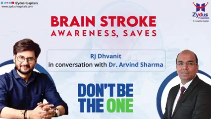 Brain stroke is the damage to the brain from interruption of its blood supply and it has become the 5th leading cause of death in India but early detection and precautions can reduce the damage.   We have with us, the most favorite RJ of Ahmedabad, RJ Dhvanit with us in conversation with Dr. Arvind Sharma to spread awareness and spread light on the Brain Stroke and its awareness.  #Brainstroke #BrainHealth #RJDhvanit #ZydusHospitals #Ahmedabad #SmileofGoodHealth