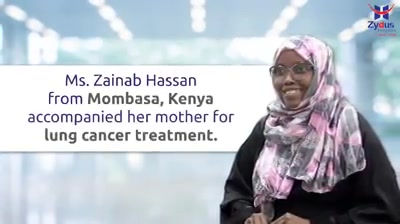 #LungCancer - it's scary to anyone, more so to the patient and the family every day is a struggle with uncertainty.  Here is the story of one of our very charming patient who traveled all the way from #Mombasa #Kenya to rediscover her lost health.  After facing a lot of problems managing the disease and spending some of the toughest days of her life here with us during the #COVID. With the grace of God, effort of the doctors & her own faith in #Zydus her condition improved well.  We cherish this moment as we see her fit and ready to be home.  Ahsante sana, Asha & Zainab.  We are happy that we gave #AshatoAsha #ZydusHospitals #Ahmedabad #GoodHealth