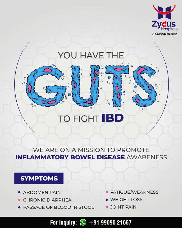 You have the GUTS to fight IBD, We are on a mission to promote inflammatory bowel disease awareness  #InflammatoryBowelDisease #IBD #ZydusHospitals #StayHealthy #Ahmedabad #GoodHealth #IBDAwareness https://t.co/07Ii54Brlf