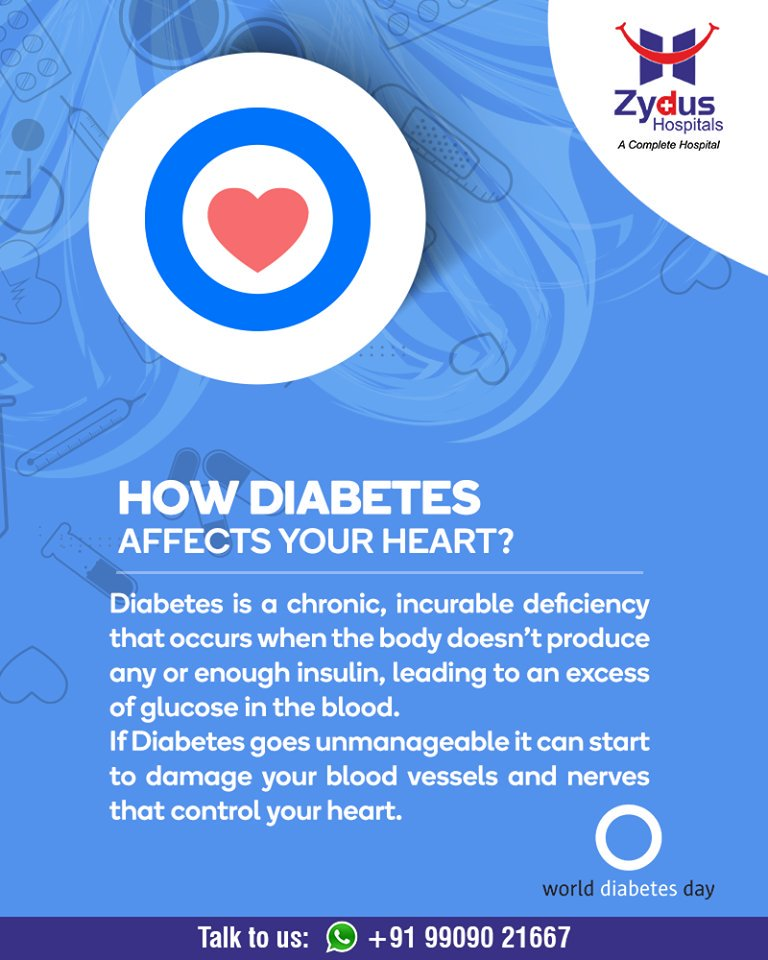 Diabetes is a chronic, incurable  ReadMorehttps://www.facebook.com/ZydusHospitals/photos/pb.1417145461887836.-2207520000.0./2407170886218617/?type=3&theater  #WorldDiabetesDay #Management #Guidance #GoodHealth #StayHealthy #ZydusCare #ZydusHospitals #Ahmedabad #Gujarat https://t.co/e3t70VmySw