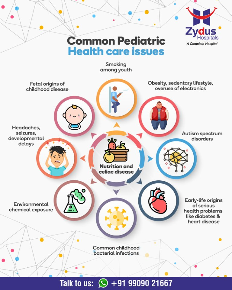 Common pediatric health care issues!  #CommonPediatric #GoodHealth #StayHealthy #ZydusCare #ZydusHospitals #Ahmedabad #Gujarat https://t.co/ph90ySkCAO